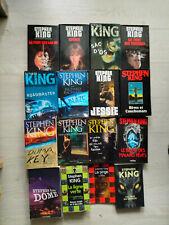 lot 21 livres STEPHEN KING grands formats coffret ,La ligne verte en 6 volumes