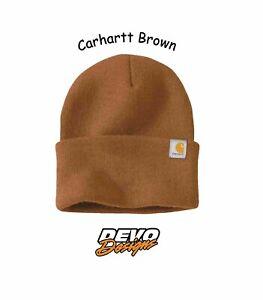 Carhartt Acrylic Watch Hat Beanie Mens Womens Unisex Sock Cap 2.0 Various Colors