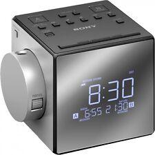 Sony icf-c1pj proyección despertador radio despertador relojes radio würfeluhr LED FM