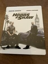 Hobbs and Shaw 4k UHD Bluray Best Buy Steelbook - Great Condition!