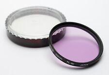 Hoya 52mm FL-W Filter w/Case (FL-D for Warm White Fluorescent) Made in Japan EX!