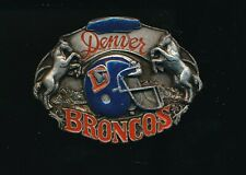 1987 SISKIYOU DENVER BRONCOS NFL FOOTBALL BELT BUCKLE /15,000