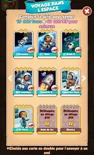 Coin Master x100 carte au choix set voyage dans l'espace (cards)