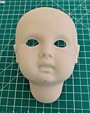 Vintage Unused Bisque Doll Head 1992 Irene Stone  (i7)
