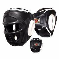 Kids Head Guard Junior Helmet Kick Boxing MMA Martial Arts Children Training