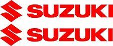Suzuki Stickers 2 x 200 mm x 40 mm Quality Outdoor Vinyl Sticker