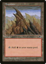 Magic MTG Tradingcard Tempest 1997 Mountain  (346)