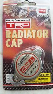 TRD, Radiator Cap 1,3 Kg/Cm, 9 MM Small Head, Fit Toyota, Lexus.