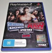 Smack Down Vs Raw 2010 PS2 PAL *Complete* Wrestling