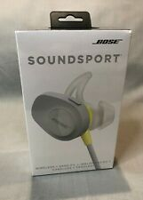 New Bose SoundSport Wireless Headphones Citron