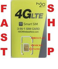Fits BlackBerry Curve 9320	Standard SIM H2O Triple Sim Card