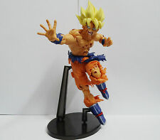 "DragonBall Z DBZ SCultures Super Saiyan SS Goku PVC Figure 9"" loose"