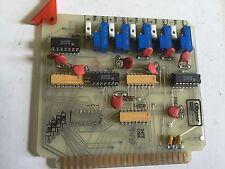 USED OILGEAR L404564-506,316211 CH2 PREAMPLIFIER BOARD,BOXYD