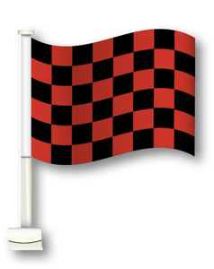 """Car Dealer Window Flags You Pick From 12 Designs Flag Is 12"""" x 18"""" Clip On"""