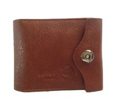 Men's Leather Wallet Bifold ID Cards Holder Coin Purse Secret Pockets Gift NEW