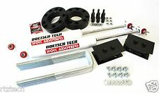 "F150 04-15 LIFT KIT 3"" STRUT SPACER DOETSCH TECH REAR SHOCKS 4"" BLOCKS 2WD USA"