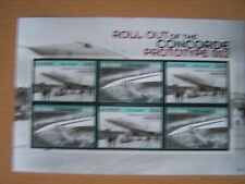 GUYANA,2007,CONCORDE/AIRCRAFT,U/M,M/S OF 6 STAMPS,SG.MS6648A.,EXCELLENT.
