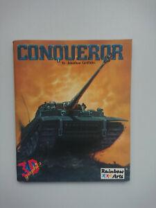 Conqueror Game Manual Commodore Amiga 500 600 1200 from Big Box Rainbow Arts