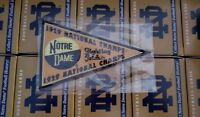 2013 Upper Deck Notre Dame National Championship Pennants 1929