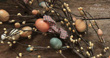 """52"""" Spring Pip Berry and Easter Egg Garland"""