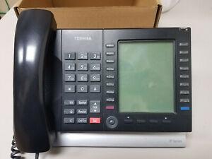 TOSHIBA IP5131-SDL (LOT OF 5) IP PHONE DUAL GIGABIT LARGE BACKLIT DISPLAY VOIP