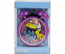 RARE Peyo The Smurfs Schtroumpf Smurfin Alarm Clock MINT in box 2013 Netherlands