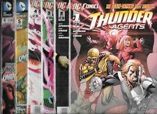 THUNDER AGENTS #1-#6 SET (NM-) DC COMICS