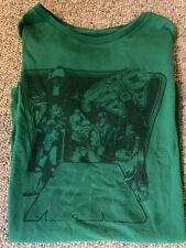 Vintage Starwars Green Logo Tee Shirt Womens Large