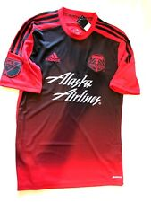 NWT Adidas Portland Timbers Authentic Climacool Red Jersey Small size