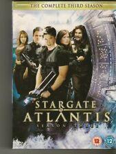 Stargate Atlantis : Season 3 DVD, 5-Disc Set TV Series Region 2