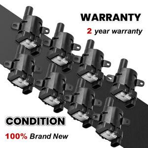 Ignition Coils Plug Pack for Chevrolet GMC Hummer Isuzu Ascender  5.3L 6.0L 4.8L