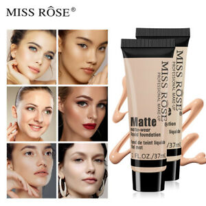 MISS ROSE Flawness Long-Lasting Liquid Color Changing Base Face Foundation