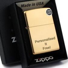 Free Engraving - Personalized Groomsman Zippo lighter Windproof High Polish 254B