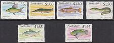 ZIMBABWE : 1994 Fish series II set  SG 864-9 NMH