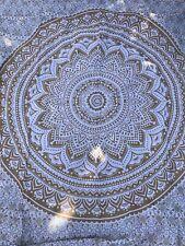 Indian Ombré Tapestry Mandala Throw Hippie Beach Spread Table Cover Picnic Du