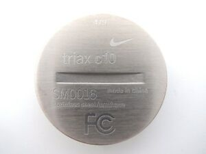 Two (2) Nike SM0016 Triax c10 Heart Rate Monitor Battery Cover Part