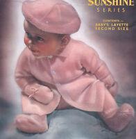 KNITTING Pattern-Vintage BABY Coat-Beret,Leggings & Mitts in 3 ply
