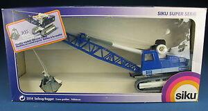 SIKU 3514 - Menck M500H Seilzug-Bagger - NEU in OVP - 1:55 - Crane Grabber