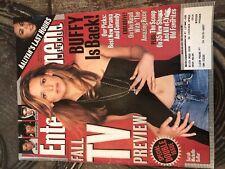 Entertainment Magazine, September 2001, Sarah Michelle Gellar Cover