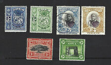 TONGA 1897, 6 DIFFERENT STAMPS, AS IN PICTURE, CAT £25+, VGU / MH