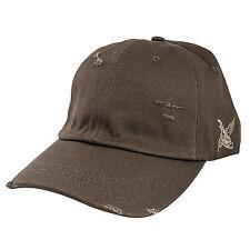 Gorra de béisbol negra grava Wayfarer Polo destruido oliva Cap Strapback Snapback