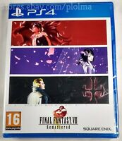 FINAL FANTASY VIII 8 REMASTERED New Physical PS4 Game EU Import US Seller FF8