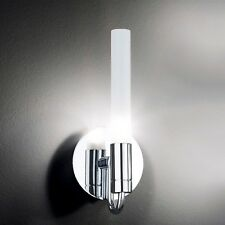 Honsel lámpara de pared OBRA Cromo Vidrio Satinado Pasillo Cocina dormir Salón