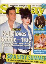 KELLY OSBOURNE - KATE BECKINSALE - TV CELEBRITY -SUNDAY  MAG -22 JUNE 2003
