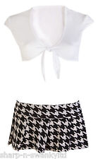 Damas Sexy Adulto St Trinians High School Girl Fancy Dress Costume Outfit 8-12