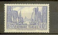 "FRANCE STAMP TIMBRE N° 261b "" PORT DE LA ROCHELLE 10F TYPE I "" NEUF xx SUP"