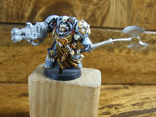 CONVERTED METAL SPACE MARINE CAPTAIN IN TERMINATOR ARMOUR PART PAINTED (020)
