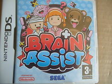 jeu nintendo DS brain assist  + livret , TBE