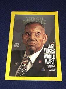 National Geographic June 2020 World War II Normandy Hiroshima Italy Quarantine