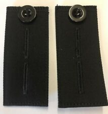 Trouser Button Extender Black X 2